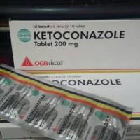 Ketoconazole tablet isi 10 tablet