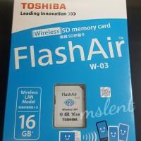 Toshiba FlashAir Wifi Card 16GB GARANSi RESMI!