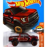'17 Ford F-150 Raptor MERAH / RED - Hot Wheels HW Hotwheels