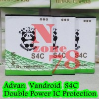 Baterai Advan Vandroid S4C S4-C Rakkipanda Double Power Protection
