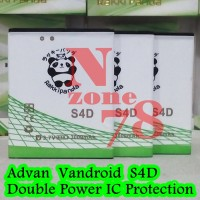 Baterai Advan Vandroid S4d S4-d Rakkipanda Double Power Protection