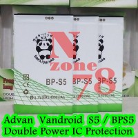 Baterai Advan Vandroid S5 Bps5 Rakkipanda Double Power Protection
