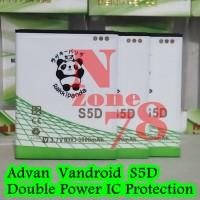 Baterai Advan Vandroid S5d S5-d Rakkipanda Double Power Protection
