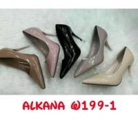 sepatu wanita high heels alkana model baru kwalitas bagus import