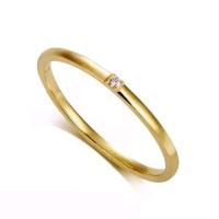 JOY Ring cincin tunangan grafir cincin couple emas cincin emas
