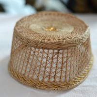 Peci Sulawesi Topi pria songkok kopiah adat bambu Makassar nasional