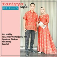 tania set couple batik silky