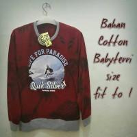sweater surfing merah Qs