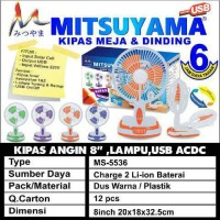 harga kipas angin cas 3in1 emergency, powerbank,dinding/meja Tokopedia.com