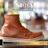 harga Sepatu Pria Casual Boots Dondhicero Aztec Asli Import Tokopedia.com
