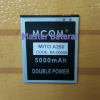 Baterai Battery Mito A250 Fantasy 2 Double Power 6000mAh