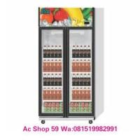 harga Showcase Cooler Rsa-jade 2 Pintu Lemari Pendingin Kaca Lapis 2 Tokopedia.com