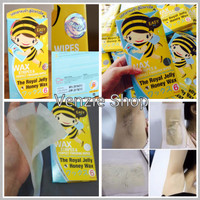Jual Muku Royal Jelly Honey Wax Strips Murah