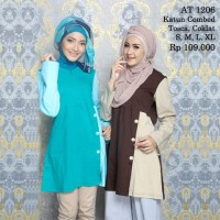 harga Rahnem At 1206 Diskon 15%/busana Muslim/atasan/dress/blus Tokopedia.com