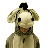 Kostum anak Keledai 3D