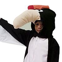 Kostum anak Burung Rangkong 3D