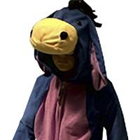 Kostum anak Keledai Eeyore 3D