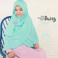 Hijab Syar'i Alila - Khimar Daisy Mint