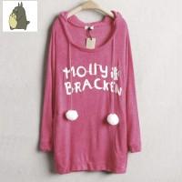 Jual sweater panjang rajut baju wanita korea hangat long john grosir murah Murah