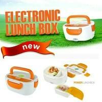 Jual Electric Lunch Box / Rantang Kotak Bekal Penghangat Makanan Praktis Murah