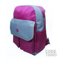 Tas Laptop Estilo 720003 Warna Pink+ Raincover