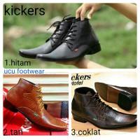 harga Sepatu Pantofel Casual Pria Kickers Formal Boots Brodo Slop Kantor Tokopedia.com