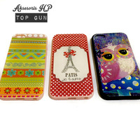 Case Motif Timbul For Iphone 5