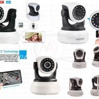 Ip Camera Wireless Wifi / Network / P2P HD 720 Support Memori Card