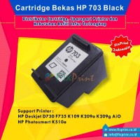 Jual Cartridge Bekas Set HP 703 Black 703 Color Murah