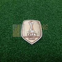 FIFA CLUB WORLD CUP CHAMPIONS BADGE 2015 (BARCELONA)