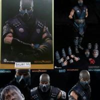 World Box Mortal Kombat Sub Zero Subzero Brother Hot Toys Scale ORI