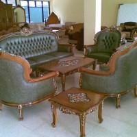 Set Sofa Kursi Meja Tamu Virginia Klasik Mebel Jati Cipta Karya Furni