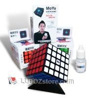 Rubik 5x5 BLACK Base, Original MoYu AOCHUANG Rubik's Magic Cube 5x5x5