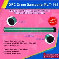 OPC Drum Toner Cartridge ML-108 MLT-D108S,  Printer Samsung ML 2010