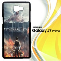 Attack On Titan Cover Movie X3748 Casing HP Samsung Galaxy J7 Prime