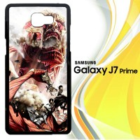 attack on titan L0599 Casing HP Samsung Galaxy J7 Prime Custom Case C