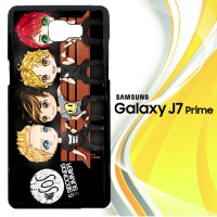 5 second of summer cartoon Y0417 Casing HP Samsung Galaxy J7 Prime Cu