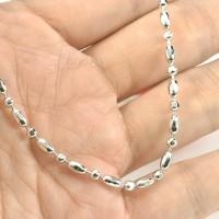 harga Gelang Rantai Motif Biji Mote / Perhiasan Wanita Lapis Emas Putih Tokopedia.com