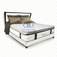 Paddington Spring Bed Kasur Springbed Charlotte - Full Set - 100x200