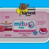 harga Mitu Baby Tisu Basah 50 Sheets - Www.tokopedia.com/theharvesctcorner Tokopedia.com