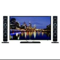 Led TV Polytron 32 inch PLD32T100 Tower Speaker