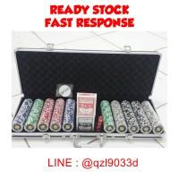 harga Poker Chip Set 500 Chips Ready Stock Tokopedia.com