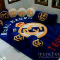 KARPET MOTIF REAL MADRID