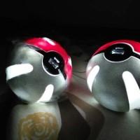 harga Pokeball Power Bank 10.000 Mah Pokemon Go Great Ball Merah Lampu Tokopedia.com