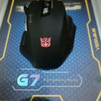Mouse Gaming VEGASUS G7 2400dpi Serupa REXUS G7 The Same Quality