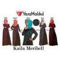 Kaila Meribell maxi dress gamis