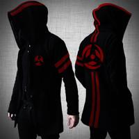 Naruto - Jaket / Jacket Jubah Anime Kakashi Sharingan Susanoo Black