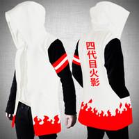 Naruto - Jaket / Jacket Jubah Anime Hokage Yondaime White/ Putih