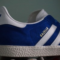 harga Adidas Gazelle 2 Blue White Original Promo Tokopedia.com