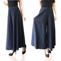 Jual Celana Kulot Sonia / Jeans Denim Spandex / Celana Panjang / Long Pants Murah